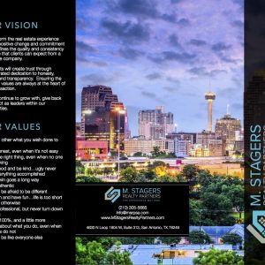 custom trifold brochures for realtors real estate agent operations marketing