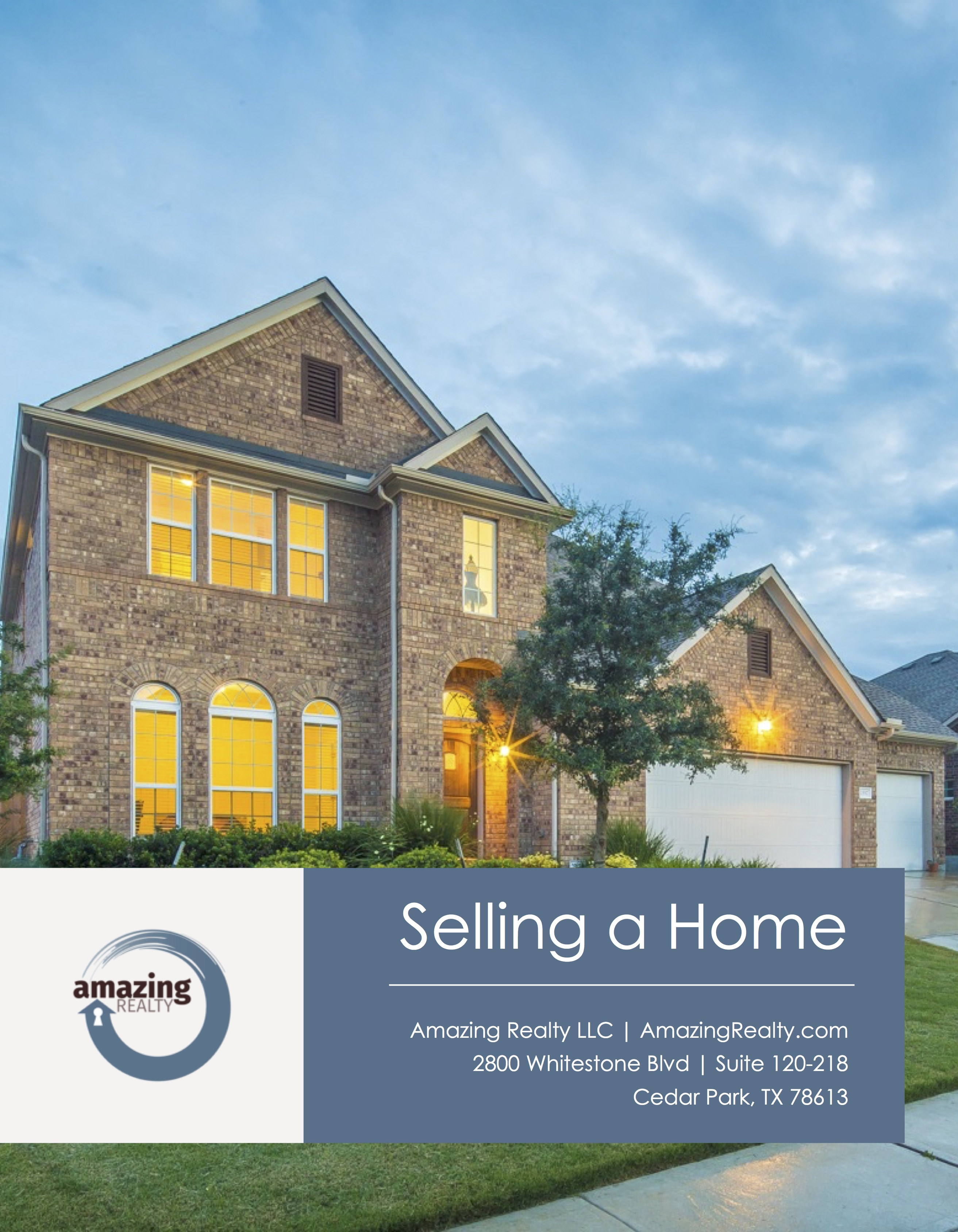 Listing Package - Amazing Realty built by Agent Operations