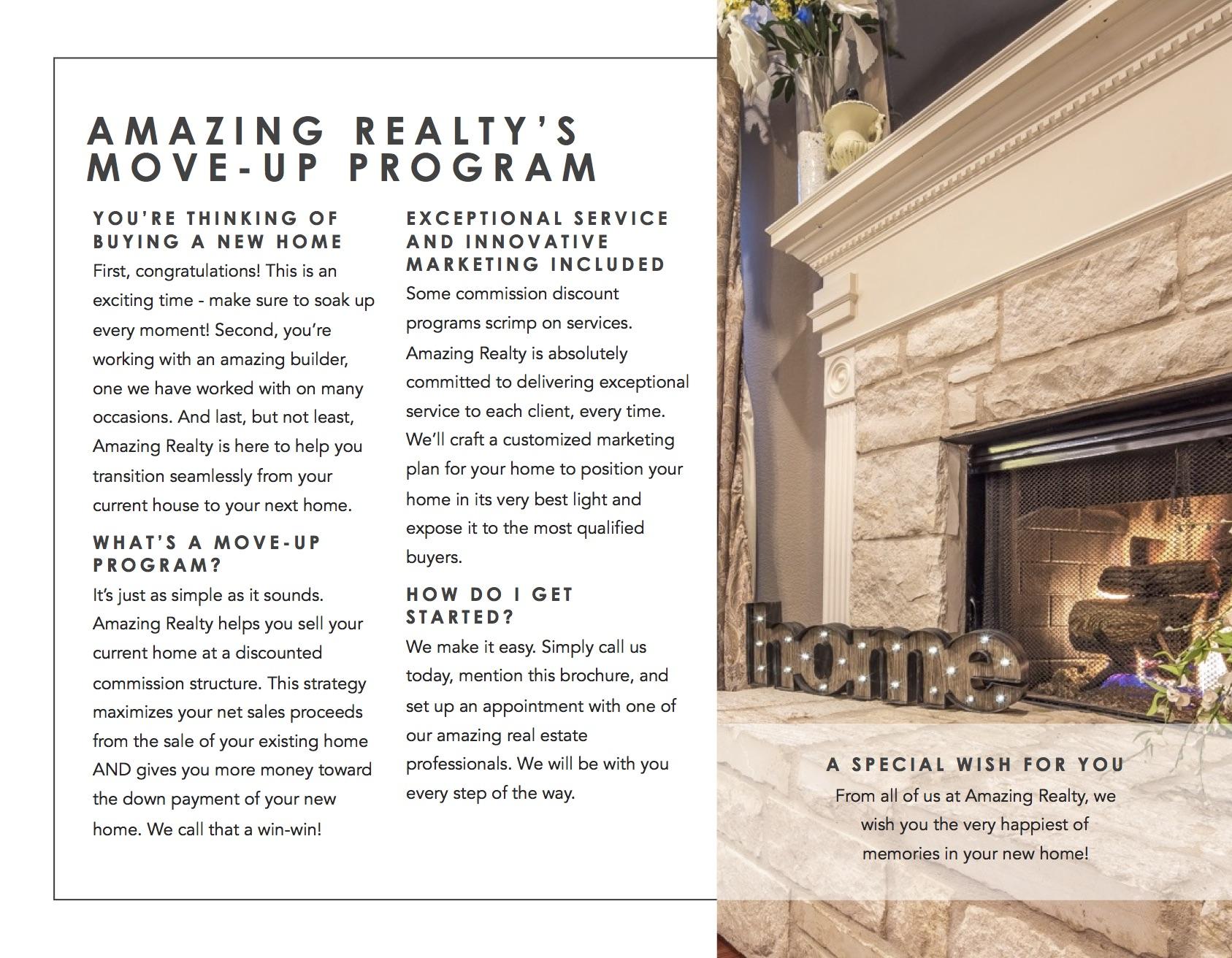 flyer real estate agent operations realtor brochure