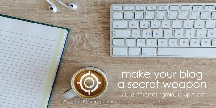real estate blog agent operations custom blog content real estate marketing agent operations