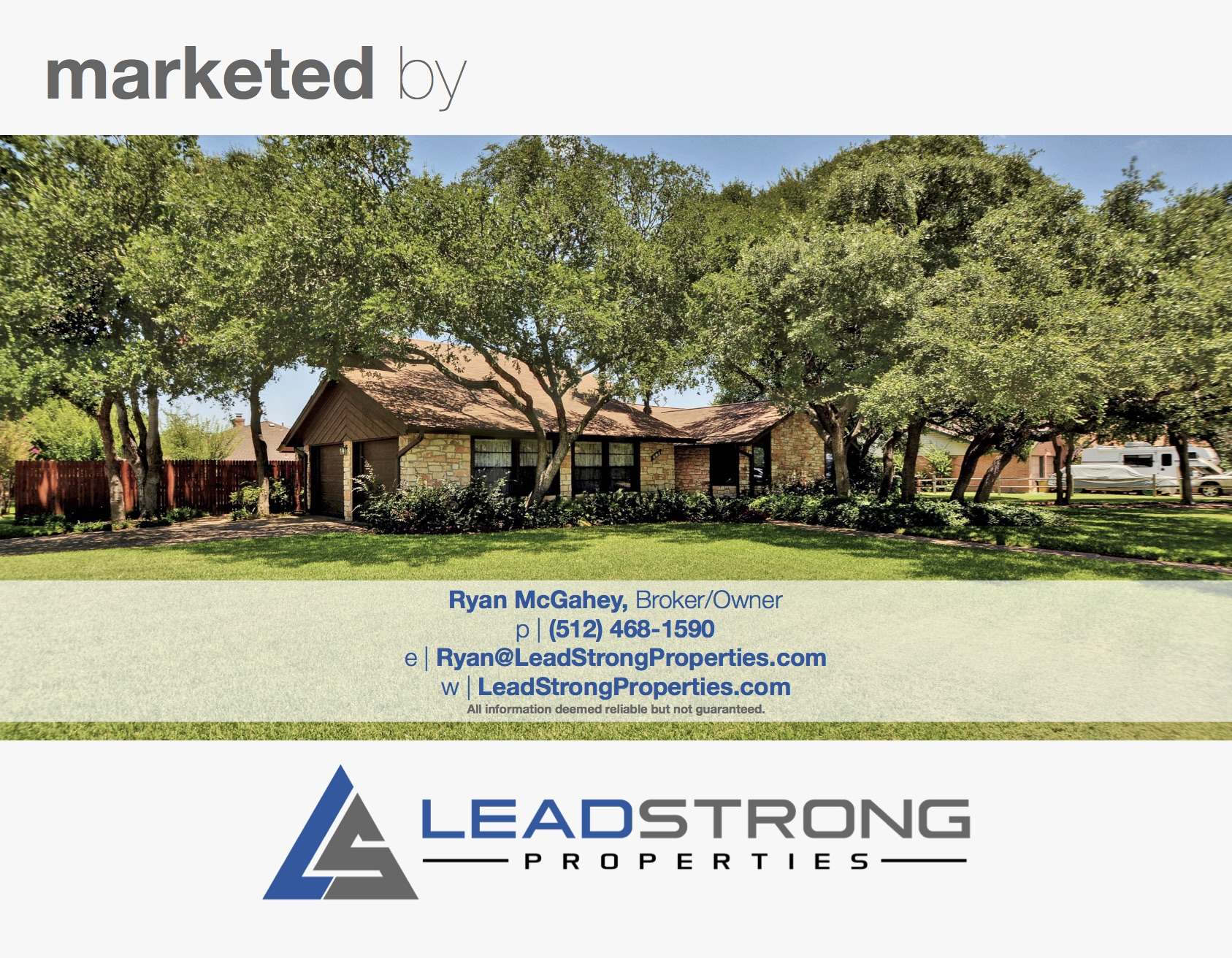 8-page property marketing brochure property brochure real estate realtor agent operations
