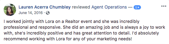 5 star review agent operations