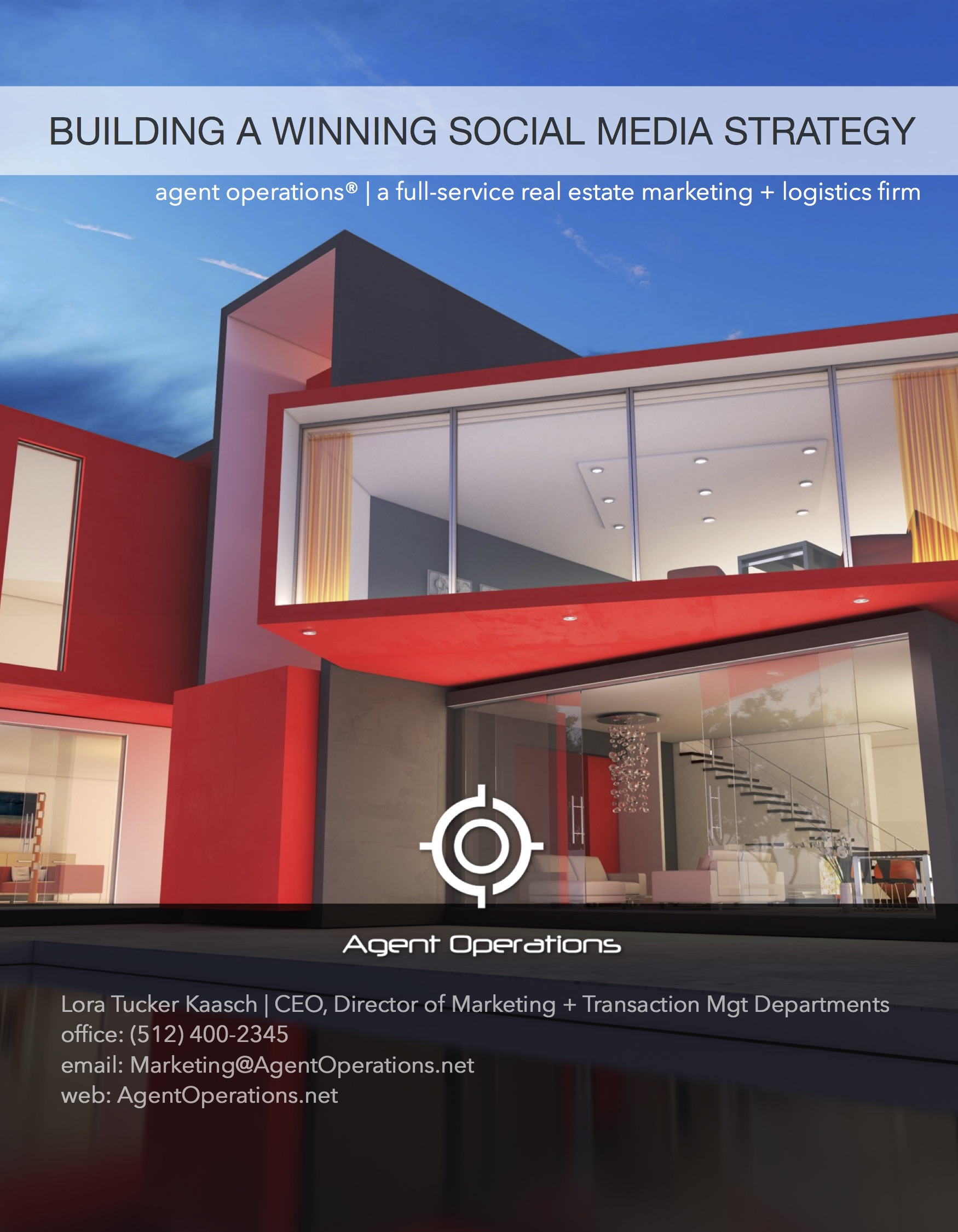 Build A Winning Social Media Strategy For Real Estate Agent Operations The Full Service Realtor And Real Estate Marketing Logistics And Transaction Management Firm