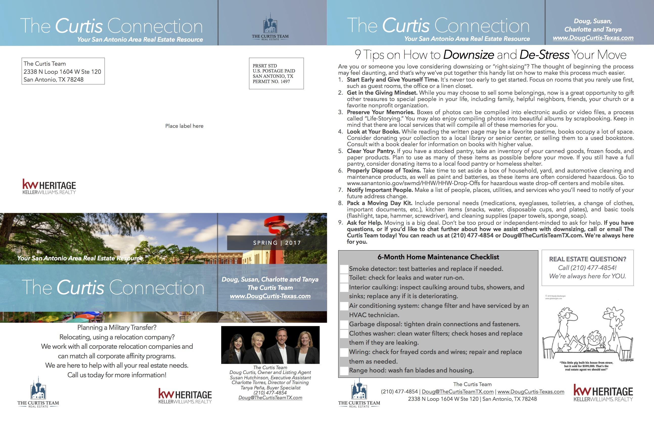 custom print newsletters real estate agent operations marketing ideas