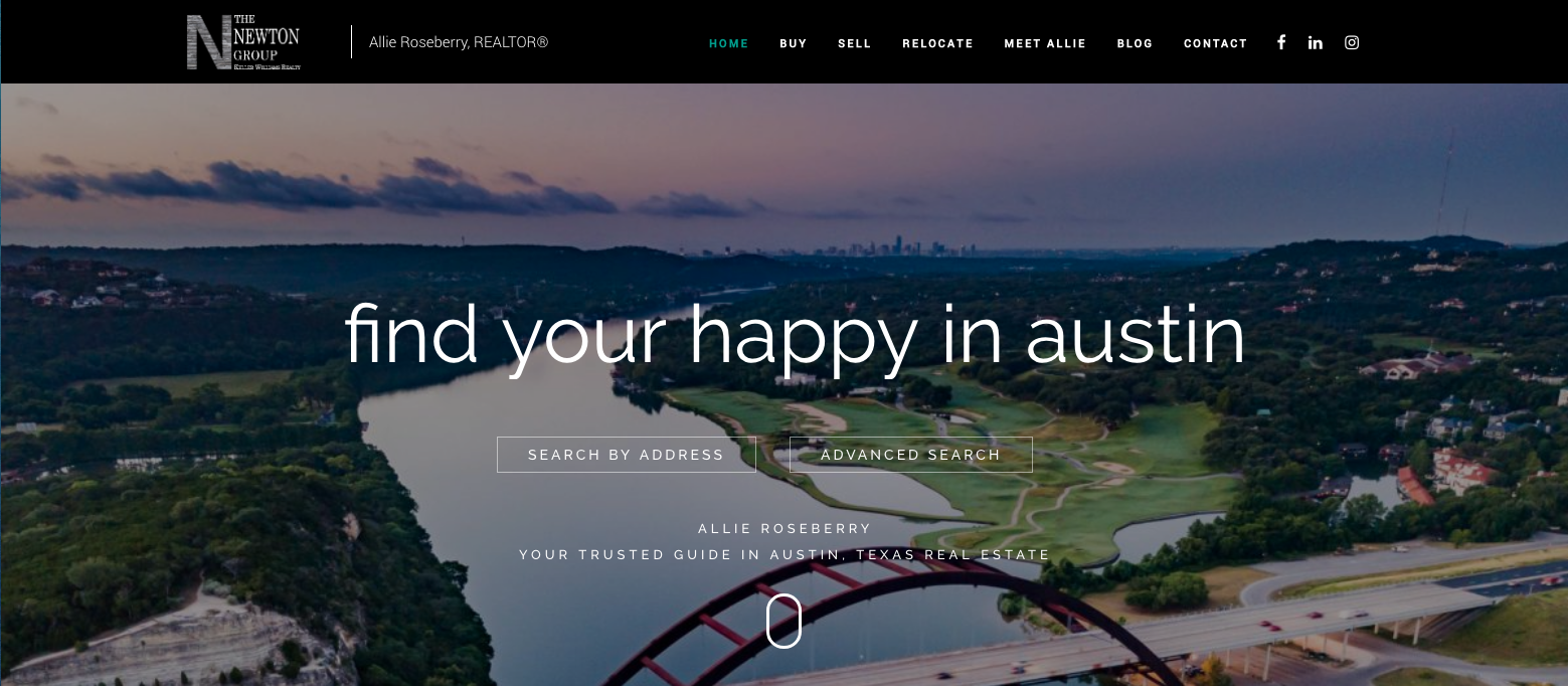 Agent Operations Website Design for Realtors Real Estate Marketing Custom WordPress realtor websites modern beautiful