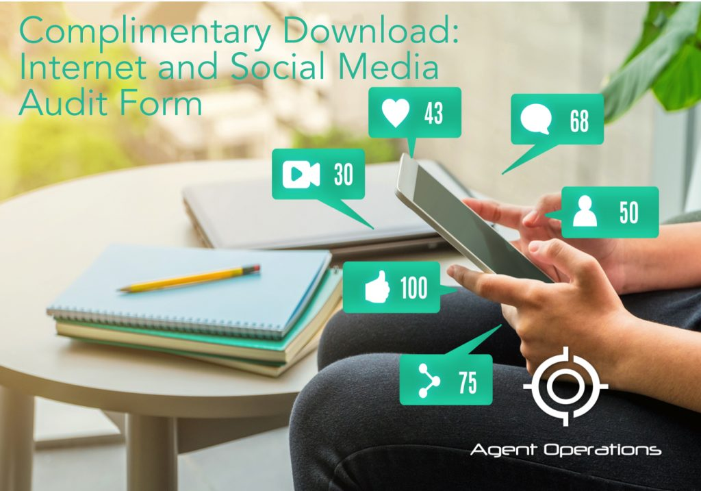 internet and social media for real estate agent operations marketing agency