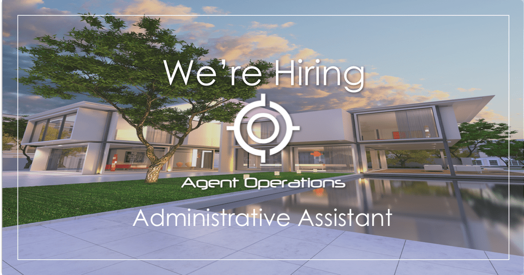 agent operations administrative assistant real estate marketing