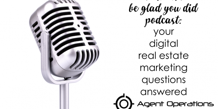 Digital Real Estate Marketing Q&A with Lora Tucker Kaasch and Shauna Ganes Do It and Be Glad You Did Podcast Agent Operations