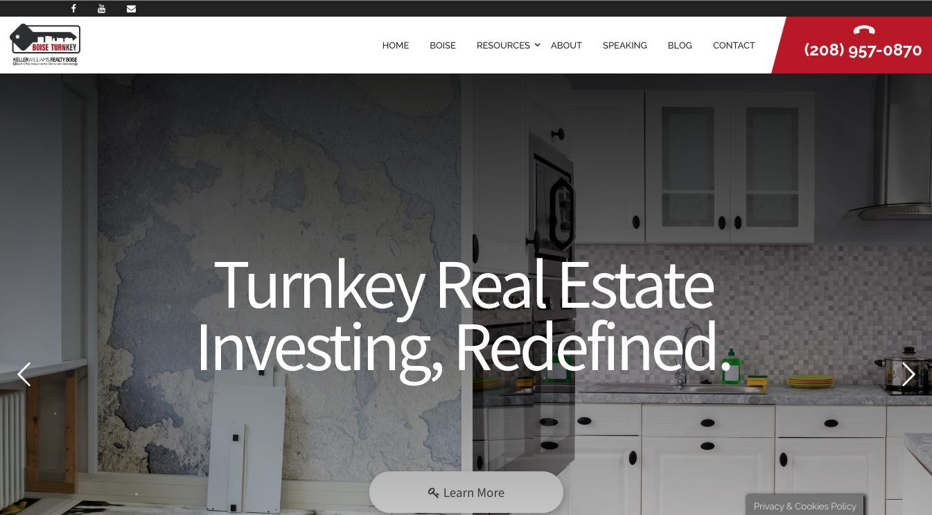Boise Turnkey - Agent Operations Real Estate Marketing Real Estate Websites Agent Websites Best Agent Websites