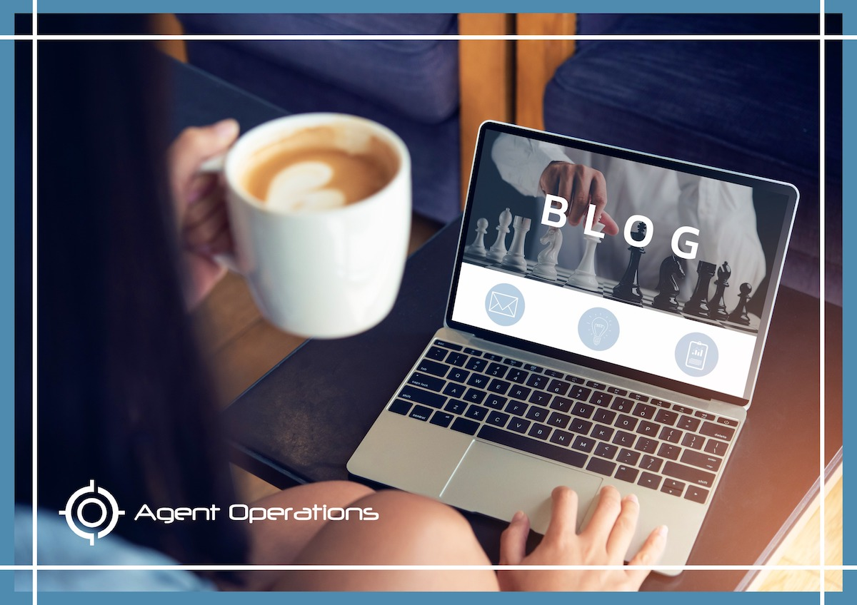 Agent Operations - Why Is Blogging Important for Real Estate Agents - Real Estate Blog - Real Estate Marketing Blog - Improve SEO for Real Estate Agents - Real Estate Marketing Tips